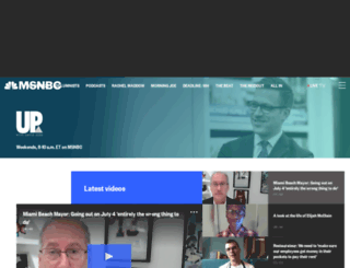 upwithchrishayes.msnbc.com screenshot