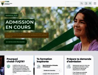 uqtr.ca screenshot