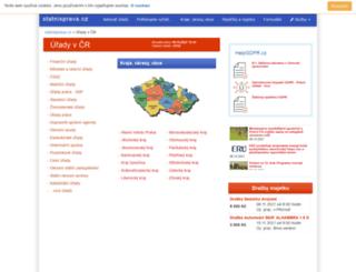 urady.statnisprava.cz screenshot