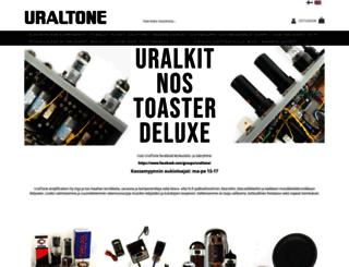 uraltone.com screenshot