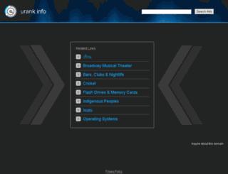 urank.info screenshot