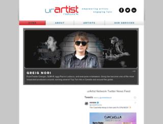 urartist.com screenshot