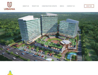 urbainia.in screenshot
