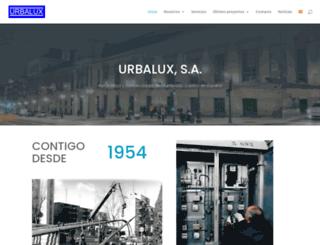 urbalux.com screenshot