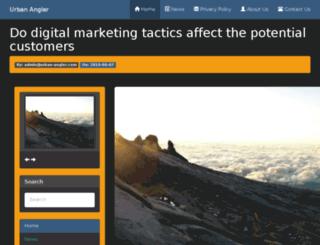 urban-angler.com screenshot