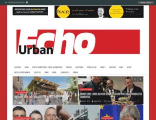urban-echo.co.uk screenshot