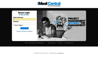 urbana.imeetcentral.com screenshot