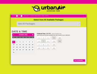 urbanairolpark.pcsparty.com screenshot