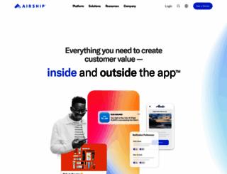 urbanairship.com screenshot
