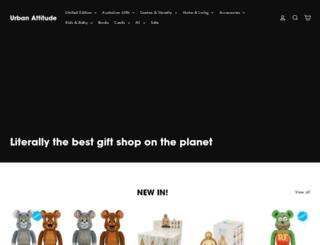 urbanattitude.com.au screenshot