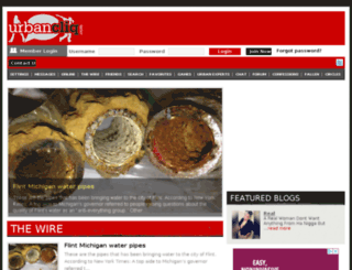 urbanchat.com screenshot