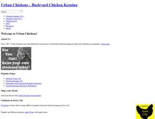 urbanchickens.org screenshot