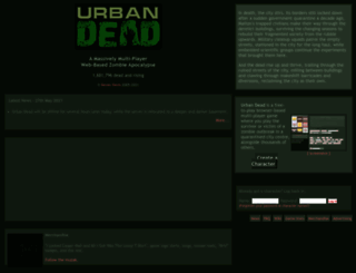 urbandead.com screenshot