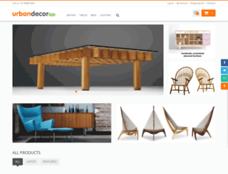 urbandecor.com screenshot