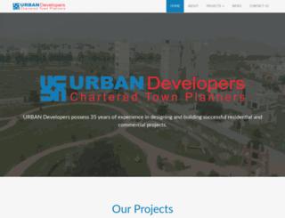 urbandevelopers.com.pk screenshot
