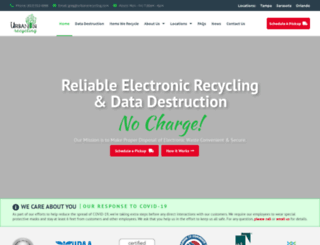 urbanerecycling.com screenshot