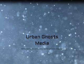 urbanghostsmedia.com screenshot