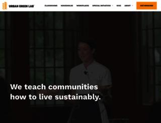 urbangreenlab.org screenshot