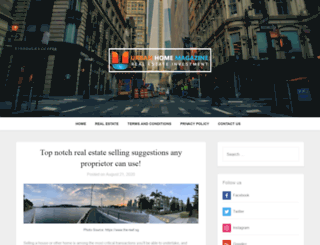 urbanhomemagazine.com screenshot