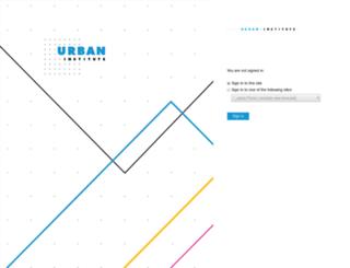 urbaninstitute.desk.com screenshot
