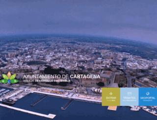 urbanismo.cartagena.es screenshot