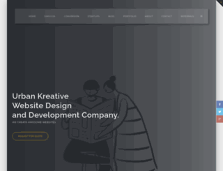 urbankreative.com screenshot