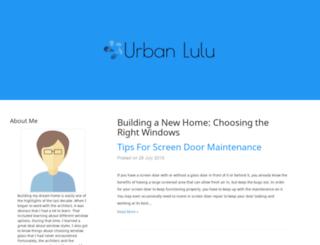 urbanlulu.com screenshot