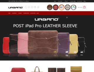 urbanocases.com screenshot