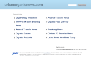 urbanorganicnews.com screenshot