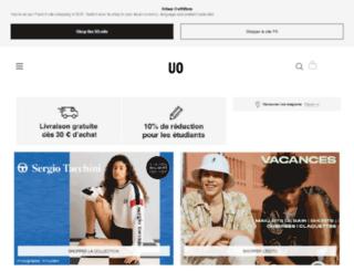 urbanoutfitters.fr screenshot