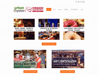 urbanoyster.com screenshot