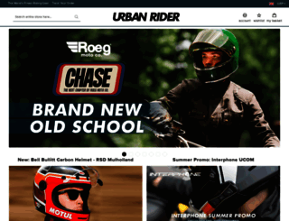 urbanrider.co.uk screenshot