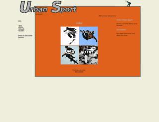 urbansport.free.fr screenshot