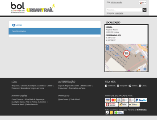 urbantraillisboa.bilheteiraonline.pt screenshot