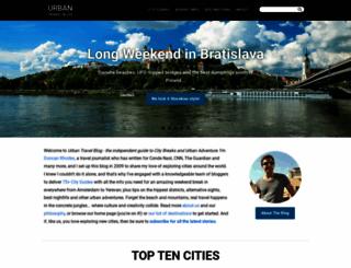 urbantravelblog.com screenshot