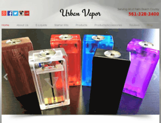 urbanvapor.us screenshot