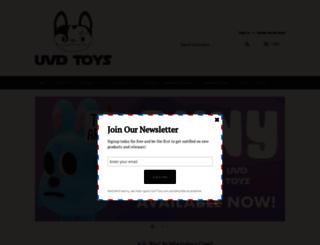 urbanvinyldaily.com screenshot