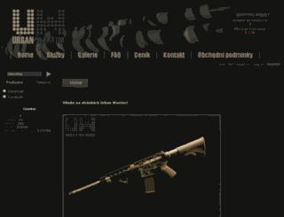 urbanwarrior.eu screenshot