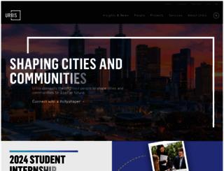urbis.com.au screenshot