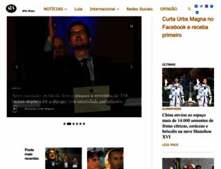 urbsmagna.wordpress.com screenshot
