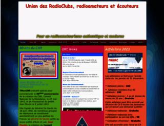 urc.asso.fr screenshot