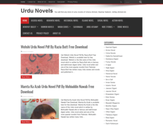 urdu-novels.net screenshot