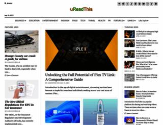 ureadthis.com screenshot