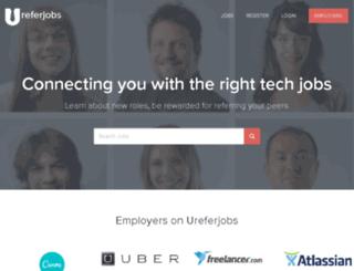 ureferjobs.com screenshot