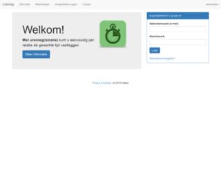 urenreg.nl screenshot