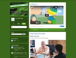 urethaneblog.typepad.com screenshot