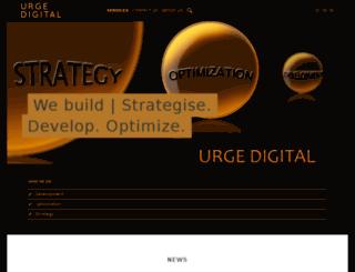 urged.co.za screenshot