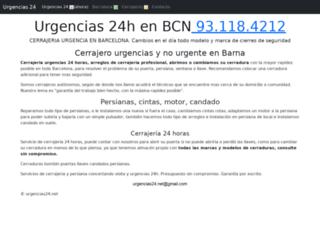 urgencias24.info screenshot