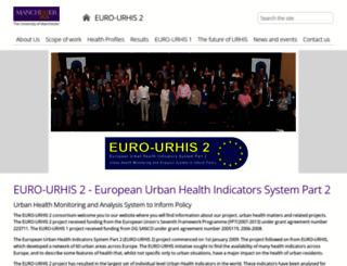 urhis.eu screenshot