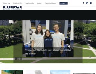 uri.hillel.org screenshot